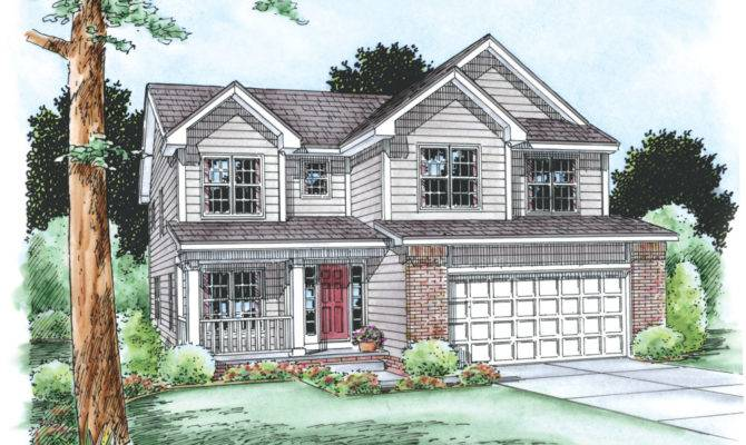 House Plan Bdrm Traditional Home