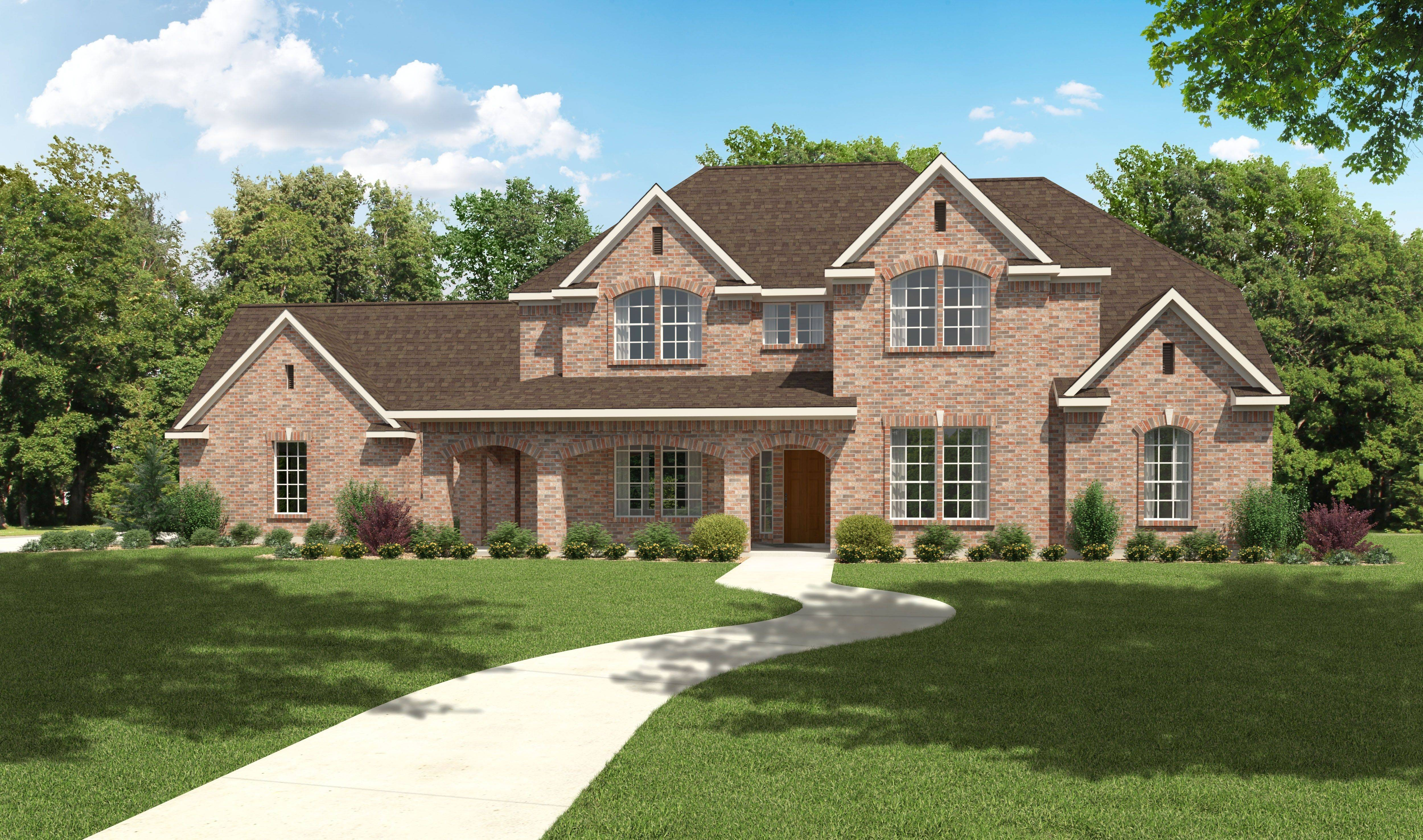 House Plan Bed Bath Story
