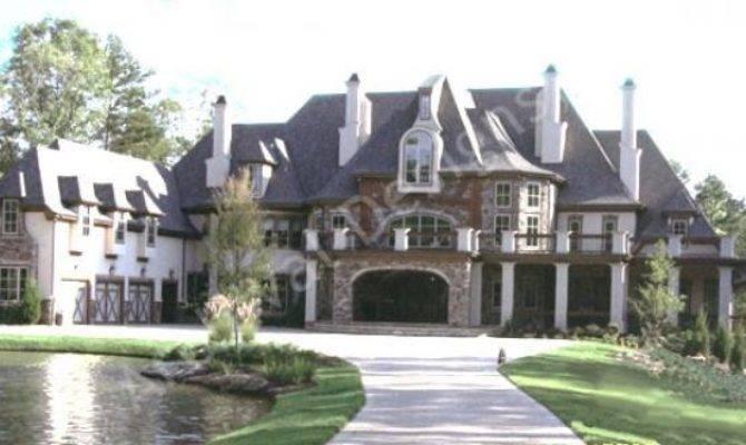 House Plan Castle Plans Styles Corrineaux Estate