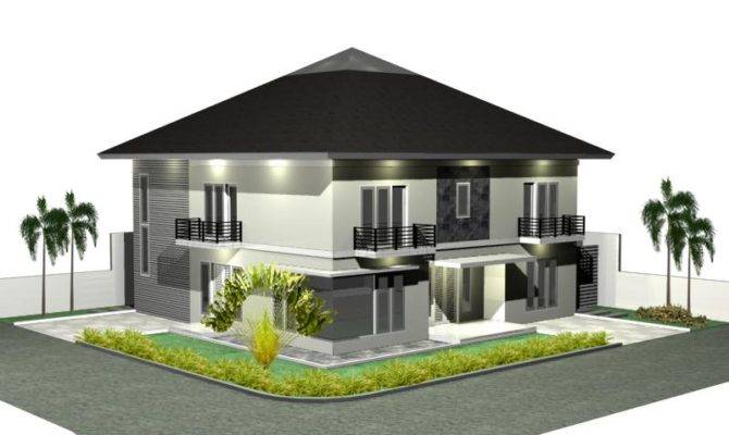 House Plan Design Modern Home Minimalist Dezine
