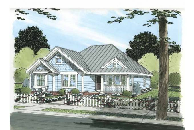 House Plan Four Bedrooms Under Square Feet