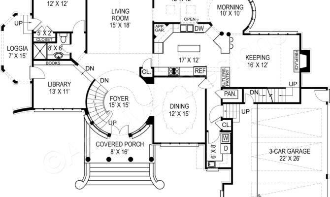 House Plan Kildare Castle Luxury Plans Spacious