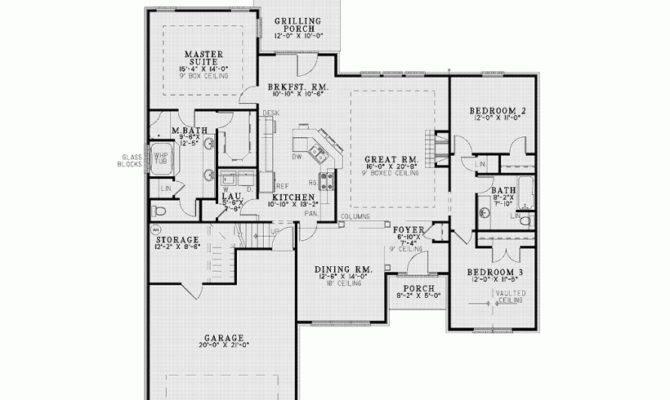 House Plan Large Bonus Room Square Feet Bedrooms