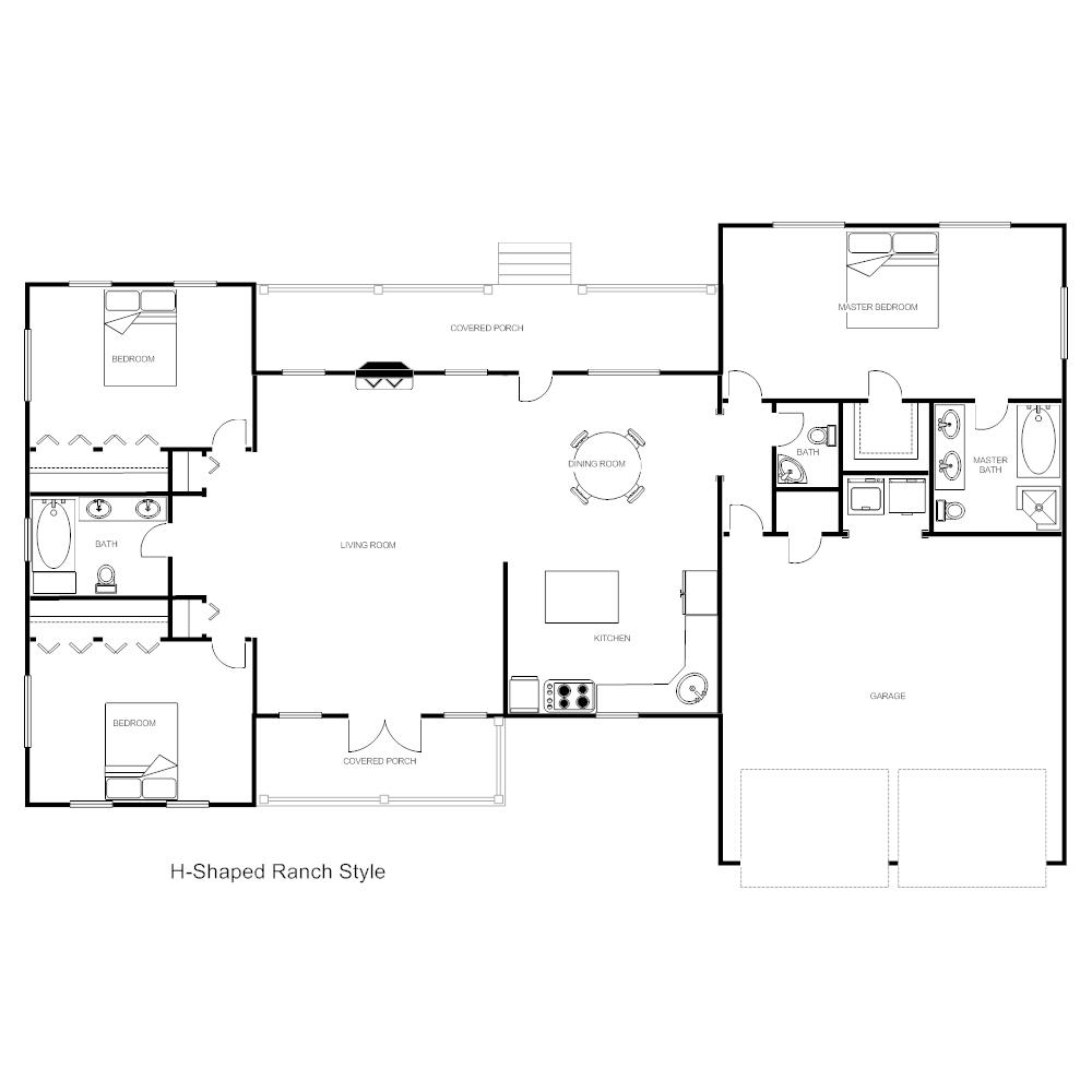House Plan Ranch