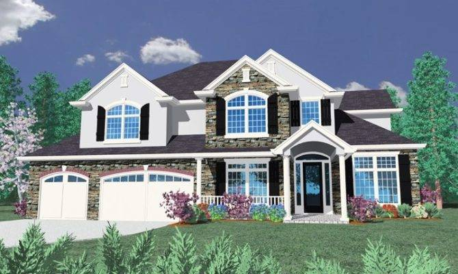 House Plan Transitional Plans