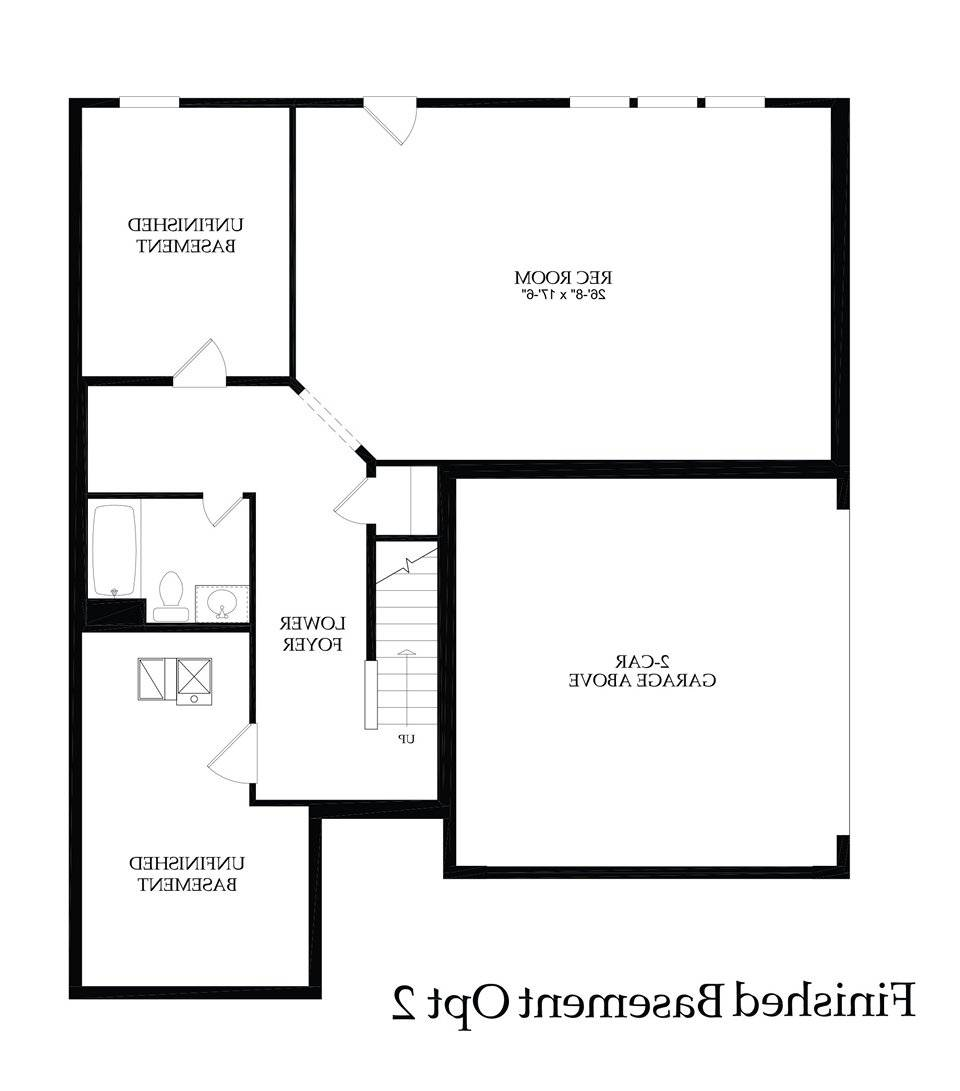 House Plans Basement Garage Within