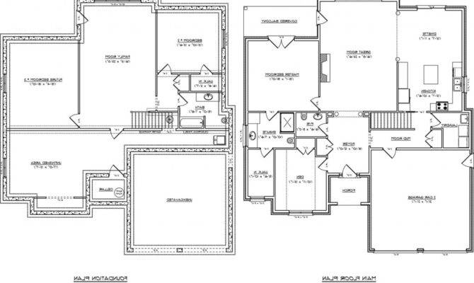 House Plans Basement Safe Room Within