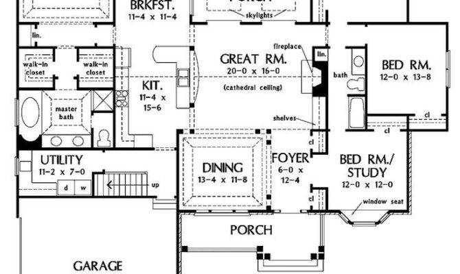 House Plans Basements One Story Luxury Vibrant
