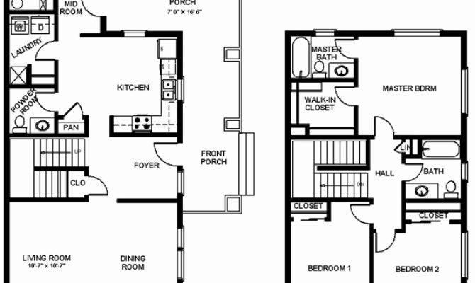 House Plans Bedroom Elegant Square Foot