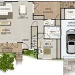 House Plans Bedroom Storey Double Design