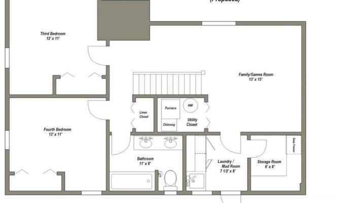 House Plans Bedrooms Basement Unique Best
