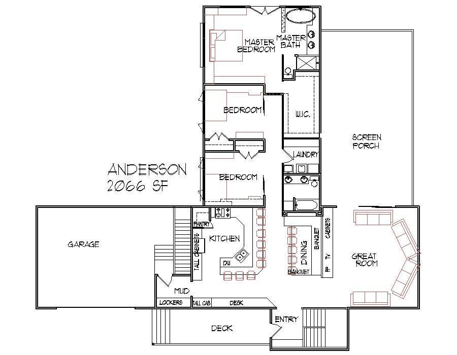 House Plans Between Square Feet