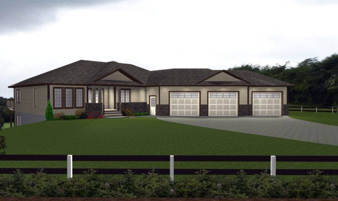 House Plans Car Attached Garage Designs