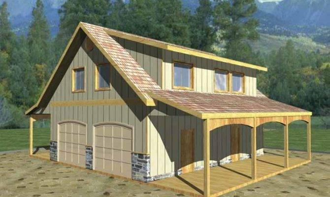 House Plans Carport Garage Woodguides
