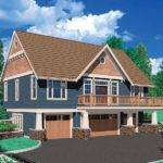 House Plans Craftsman Style Carriage Plan Car Garage