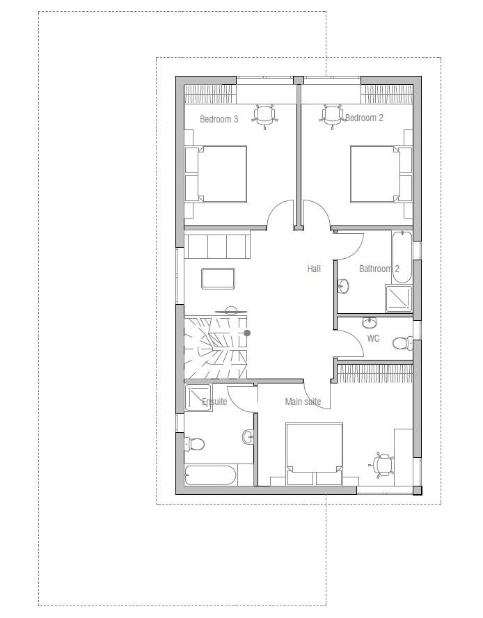 House Plans Design Modern Narrow Lot
