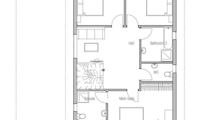 House Plans Design Modern Narrow Lots