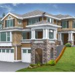 House Plans Design Modern Sloped Lot