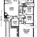 House Plans Design Modern Zero Lot Line