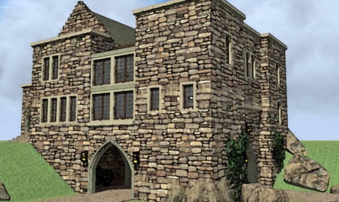 House Plans Design Small Castle