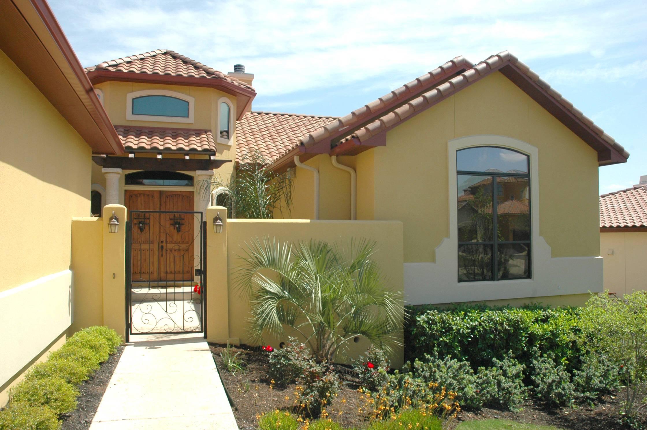 House Plans Design Spanish Flat Roof