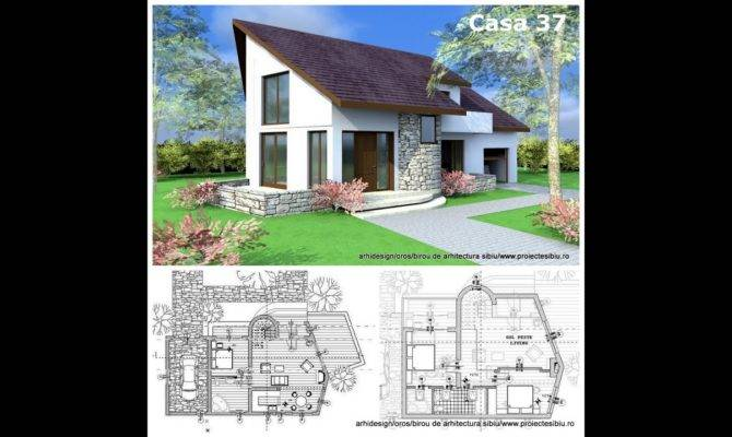 House Plans Exterior Design Attic Style Home Youtube