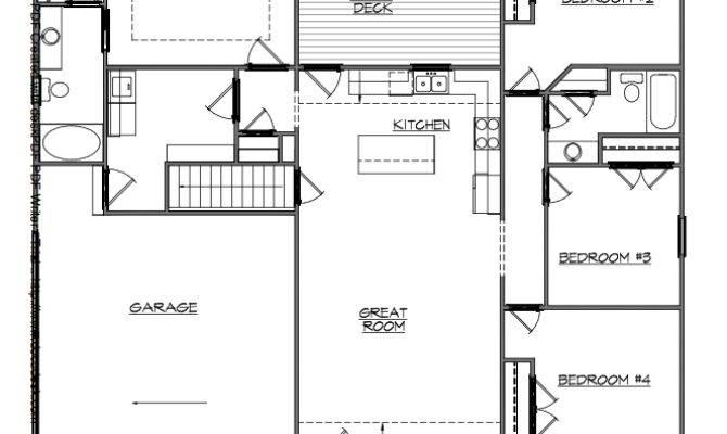 House Plans Finished Walkout Basements
