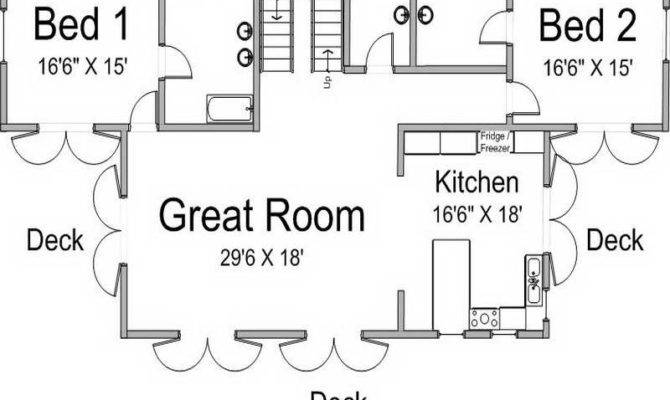 House Plans Floor Guest Houses