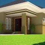 House Plans Ghana Bedroom Plan Half Plot