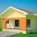 House Plans Ghana Bedroom Plan
