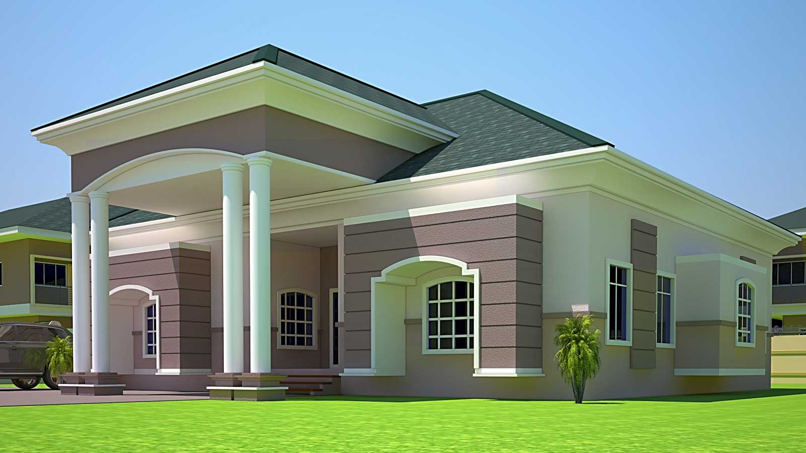 House Plans Ghana Holla Bedroom Plan