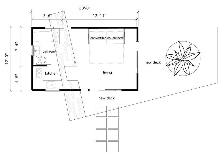 House Plans Include Guest Floor