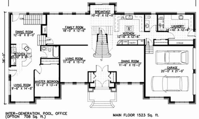 House Plans Inlaw Apartment Separate Latest