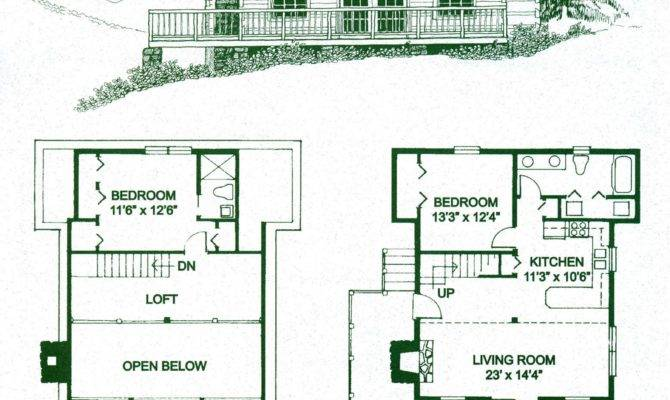 House Plans Log Cabin Style Woodworktips