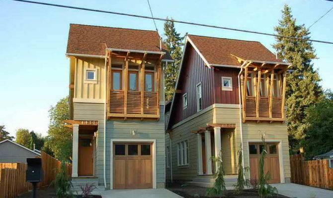 House Plans Narrow Lot Designs