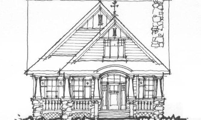 House Plans Narrow Lots Garage Cottage