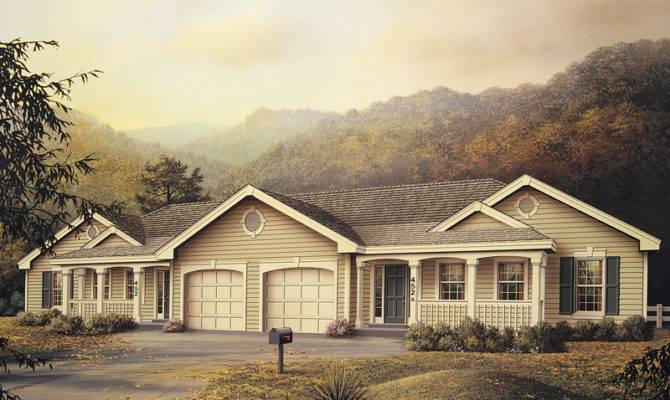 House Plans Neoclassical Home Multi Ranch