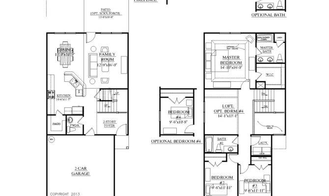 House Plans Only Master Main Floor