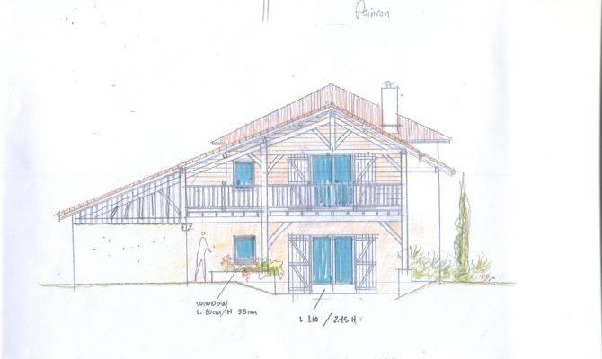 House Plans Outside Cawthrays Caupenne Armagnac