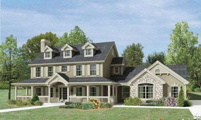 House Plans Porches All Way Around Porch Designs Make