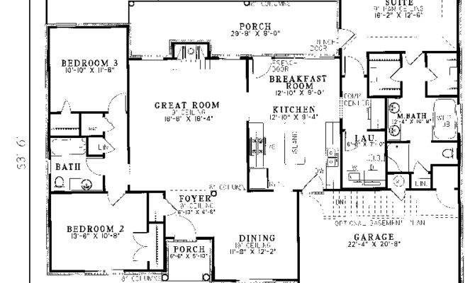 House Plans Ranch Smalltowndjs