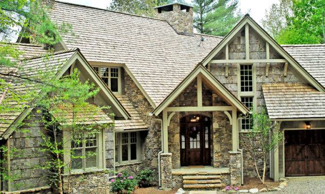 House Plans Rustic Home Craftsman More