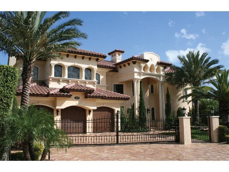 House Plans Santa Southwestern Spanish