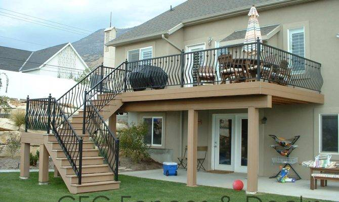 House Plans Second Story Deck