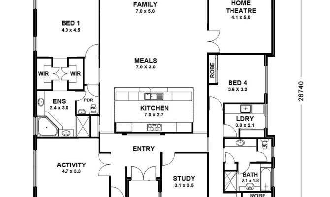 House Plans Single Storey Homes Zone