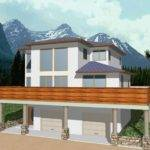 House Plans Sloping Lots Smalltowndjs