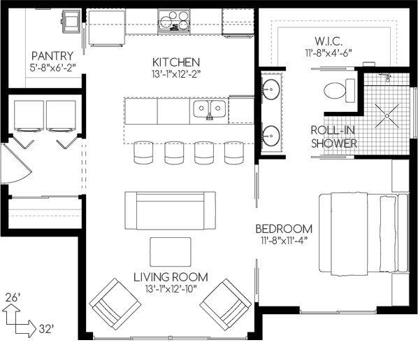 House Plans Small Homes Floor