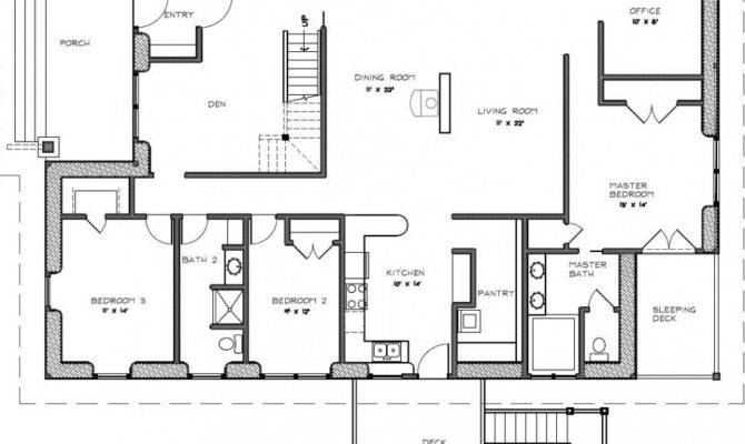House Plans Small Land Two Bedroom Front Porch