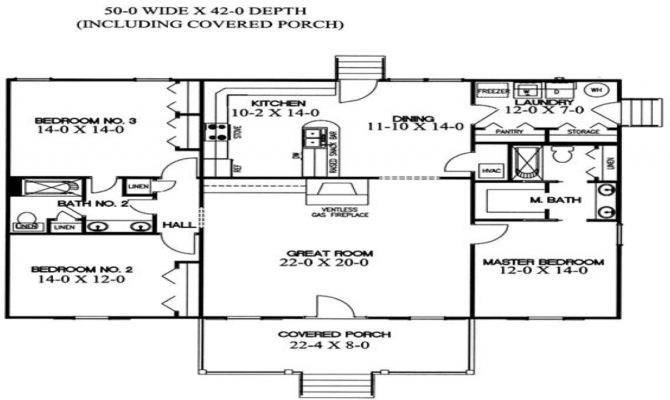 House Plans Split Bedroom Floor Master