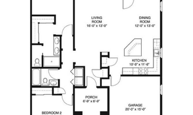 House Plans Square Feet Bedroom
